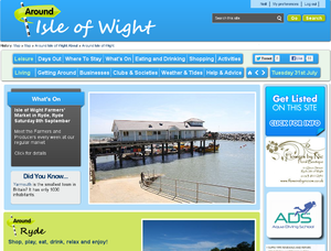Logo of Around Isle of Wight