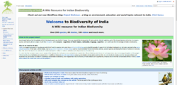 Image for Biodiversity of India