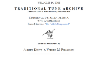 Image for The Traditional Tune Archive