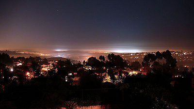 Night Shot of Carlsbad