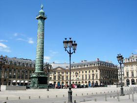 The Place Vendôme with Column