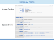 Display annotations/facts using Semantic MediaWiki (en)