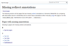 Missing redirect annotations (en)